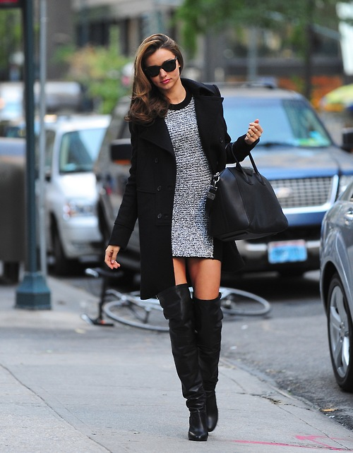 NEW YORK, NY - NOVEMBER 05: Miranda Kerr sighting at Streets of Manhattan on November 5, 2012 in New York City. (Photo by Alo Ceballos/FilmMagic)